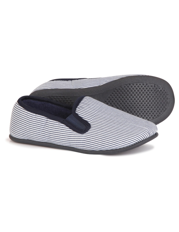 Charentaises vichy shoes from Monoprix