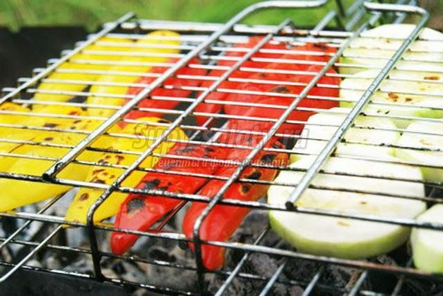 Овощи на мангале: популярные рецепты с фото