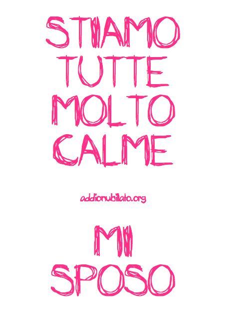 Stiamo calme addio nubilato keep calm wedding bride for Immagini di keep calm