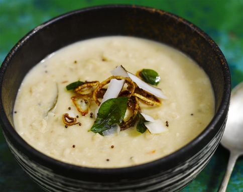 Jamie Oliver's cauliflower dhal. Must make this...a use it up recipe, perhaps?