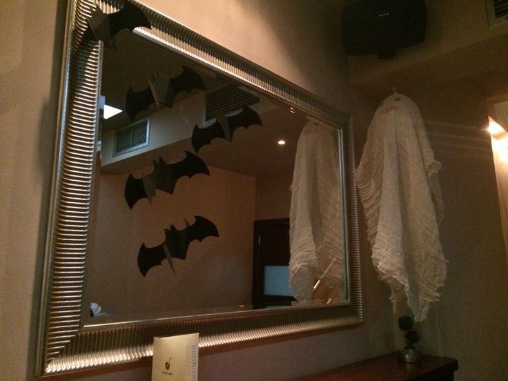 Ghost and batman decoration