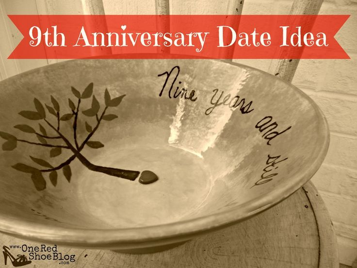 9th anniversary - pottery (idea for anniversary date night)