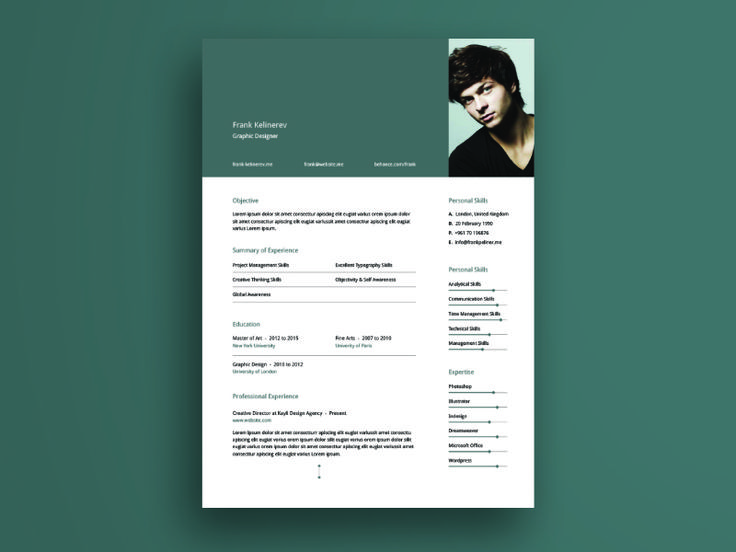25+ ideias exclusivas de Modelo de currículo executivo no - creative resume template