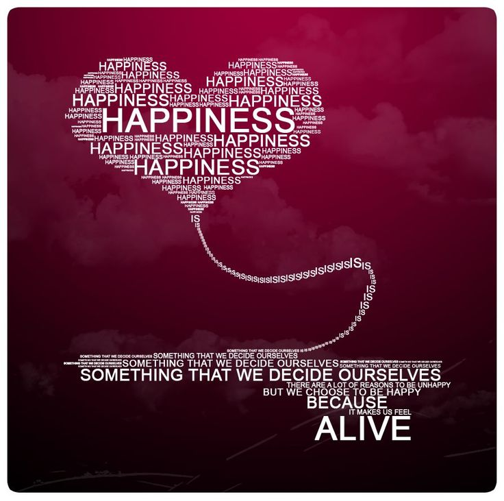 Happiness is....a choice