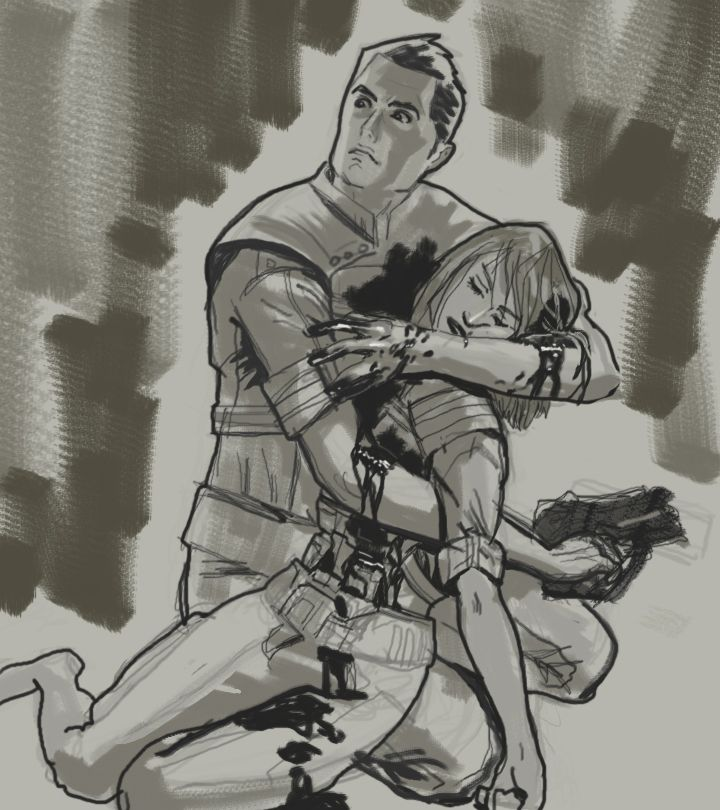Right in the Shenko. <3 Kaidan - always there in the end. :'(