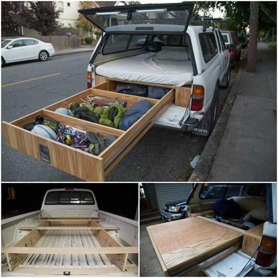 How To Install A Sliding Truck Bed Drawer Truck Box