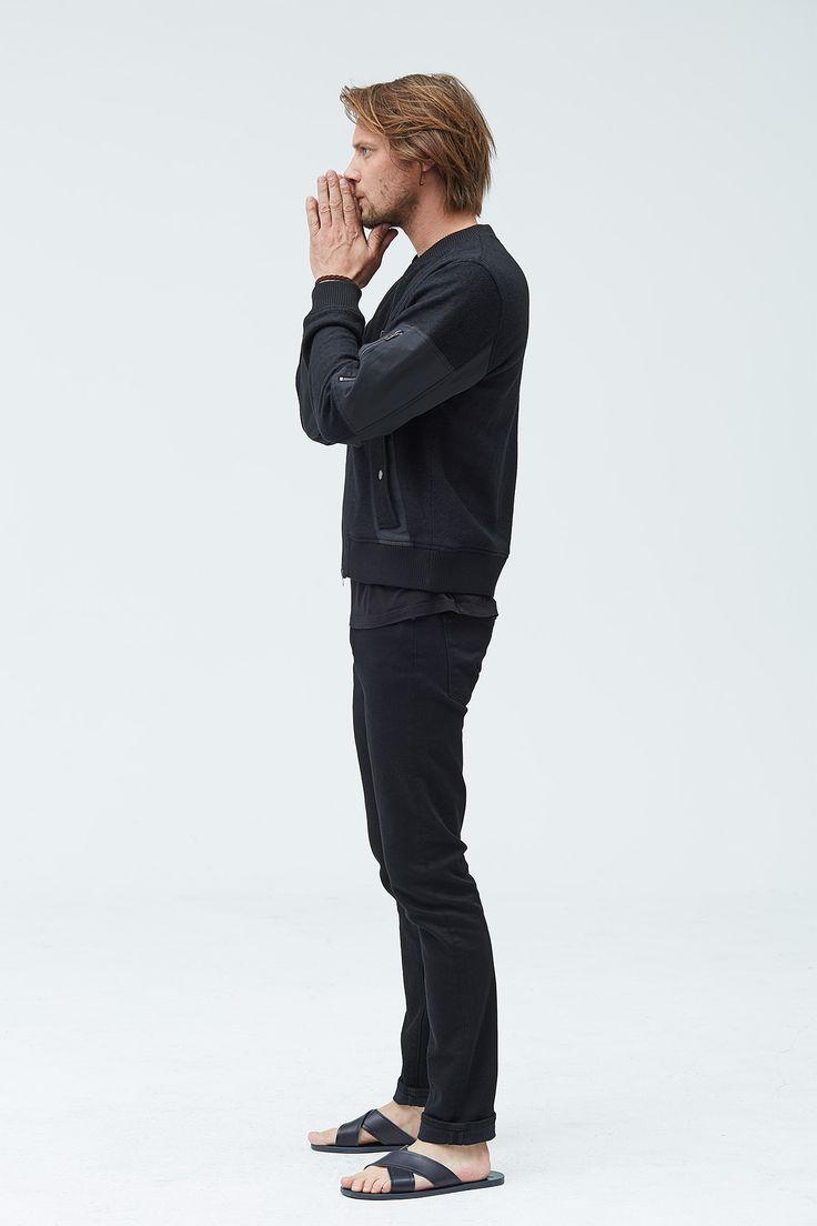 Baldwin The Kyle Bomber In Black