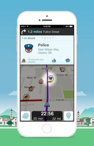 "Pinployee @davethekim  says the Waze app is great for ""beating traffic and helping others who are stuck in it!"""
