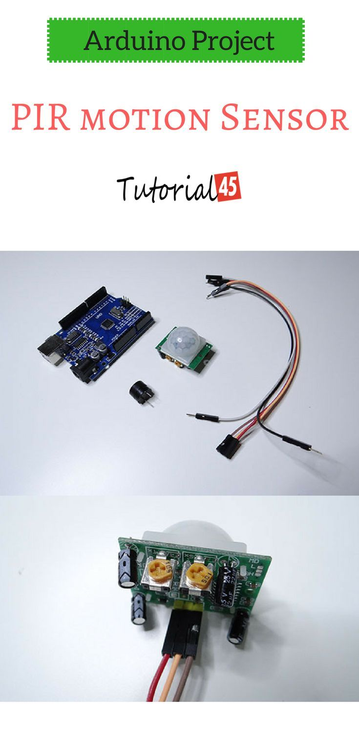 Arduino Projects Pir Motion Sensor Electronic With
