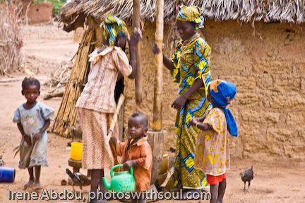 Fulani women of Burkina and Niger