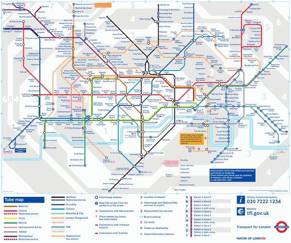 London The World's best subway maps