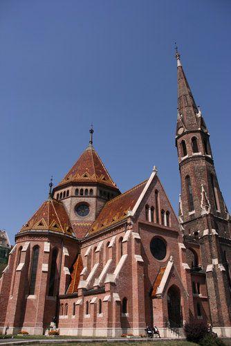 Calvinist church in Budapest