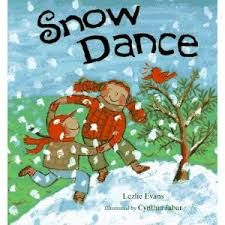 SNOW DANCE ACTIVITIES FOR KIDS.  A cute book, fun activity and free printable.  All put together to promote developmental motor skills in children!