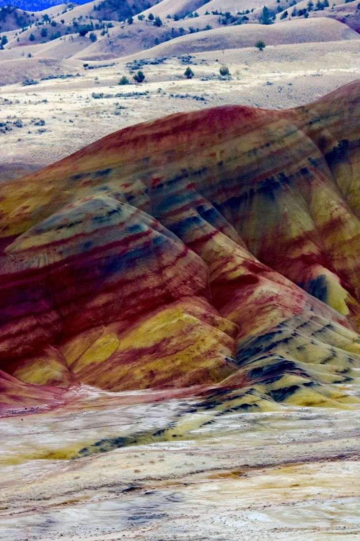 The Painted Hills, Oregon. A geological wonder!