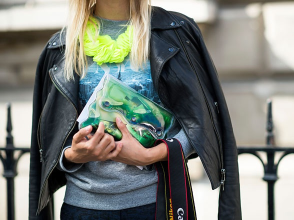 LFW S/S 2013. Photo by Adam Katz Sinding.2013 Streetstyle, Coolhunting Streetstyle