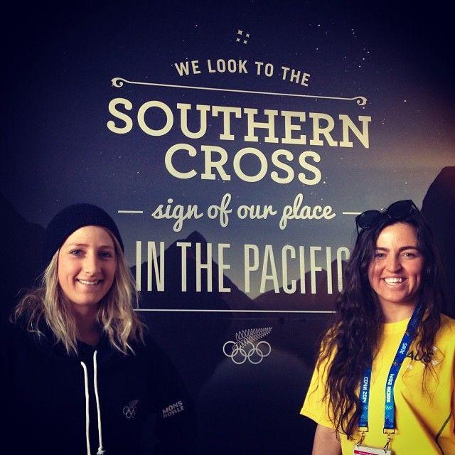 Bex and Hannah Trigger at Sochi Olympics Russia