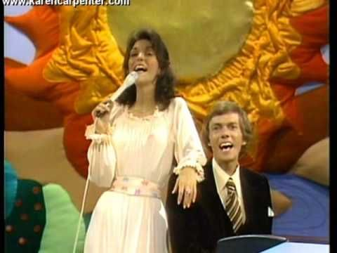 """Carpenters """"Top Of The World"""" Original Recording, 1972 (year I was born) and played this song at both my parents funerals - they are looking down on me always"""