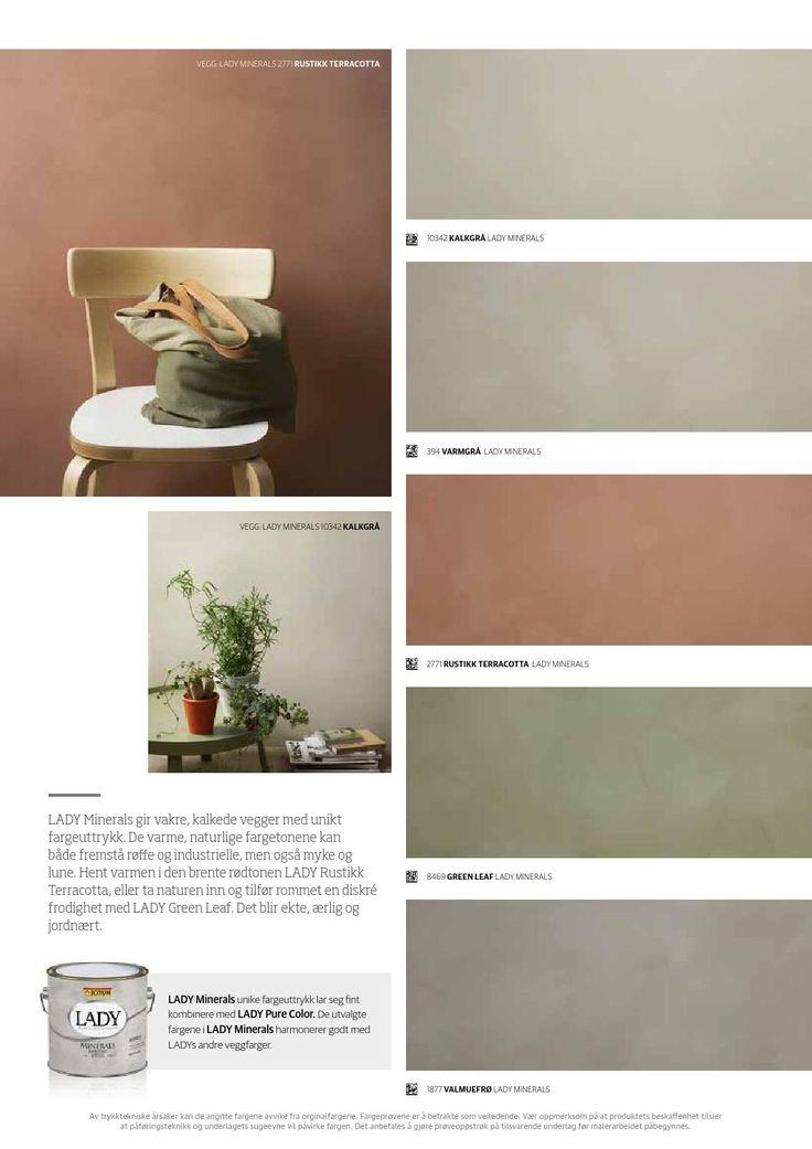 Lady Minerals - kalkmaling | Vardagsrum | Colorful ...