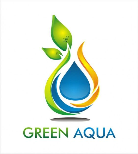 branches drop water logo