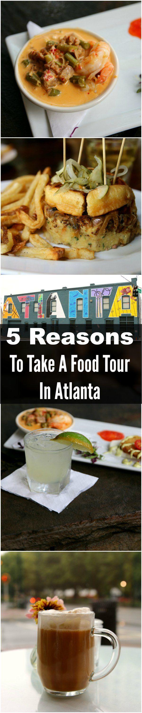 5 Reasons To Take A Food Tour In Atlanta Georgia