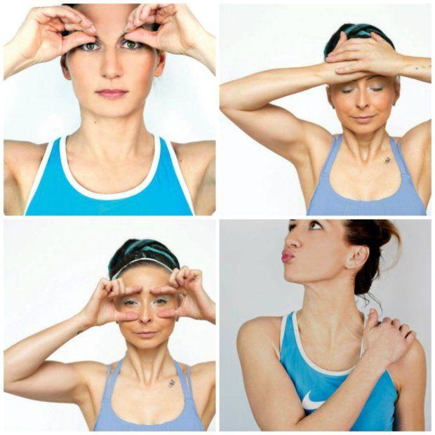 Proponowane treningi to nie dziwne grymasy, ale napinanie poszczególnych mięśni twarzy, czasami z użyciem dłoni, aby w ten sposób trochę wzmocnić opór. Uzupełnieniem jest automasaż, praca z oddechem i relaksacja. Uwagę poświęca się również szyi i utrzymywaniu odpowiedniej postawy ciała