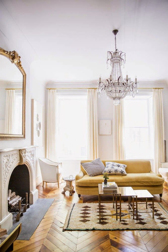 I confess, I have a soft spot for herringbone floors and spaces full of light so, of course, Im...