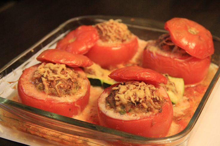 Tomate Farcie - Tomat isi daging