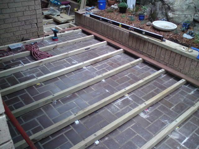 Superior DIY Decking Over Concrete | Backyard | Pinterest | Concrete, Decking And  Backyard