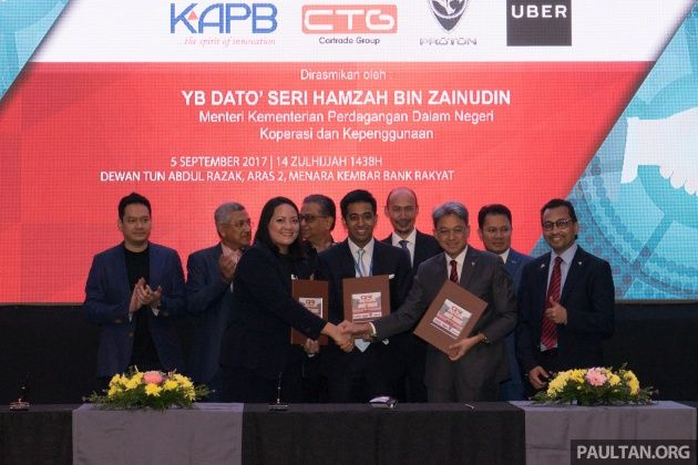 Quick Ride to lease Proton vehicles to Uber drivers  Saga at RM45 per day Persona at RM55 per day :  Those looking to become an Uber driver will soon have a new entry into the ride-hailing network. The Cartrade Group together with Koperasi Pelaburan Amanah Berhad (KAPB) has entered into a partnership with Proton to create Quick Ride a company that will lease vehicles to prospective Uber driver-partners.  The service will offer UberX drivers a brand new Proton Saga 1.3 Standard CVT at RM45…