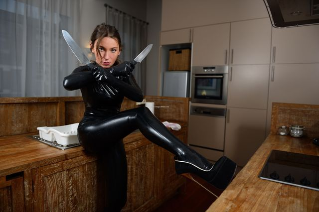 Julie skyhigh latex doll hooker is always the mistress p12