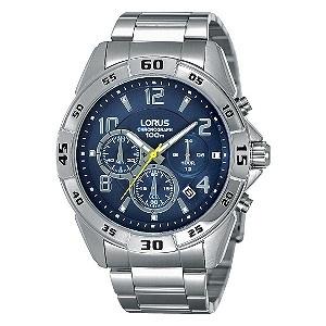 Lorus Exclusive Men's Stainless Steel Bracelet Watch at H Samuel