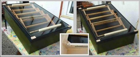 die besten 25 sonnenwachsschmelzer ideen auf pinterest unterschied biene wespe. Black Bedroom Furniture Sets. Home Design Ideas