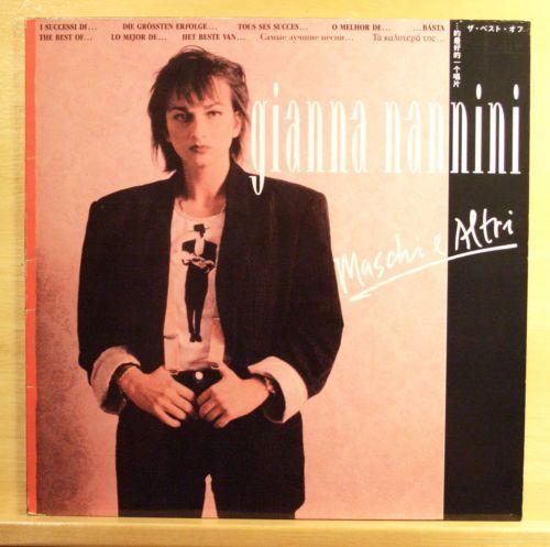 GIANNA NANNINI - Maschi e Altri - mint minus - Vinyl LP Profumo Latin Lover Rare