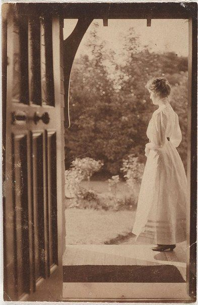 Norman C Deck (Australia 29 May 1882–31 Aug 1980) Joan at Witty Combe 1910 gelatin silver photograph