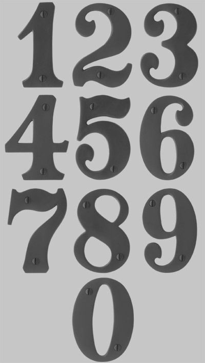 numbers font | Forum > House number font