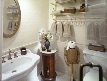 Best Steampunk Bathroom Images On Pinterest Steampunk - Peach towels for small bathroom ideas