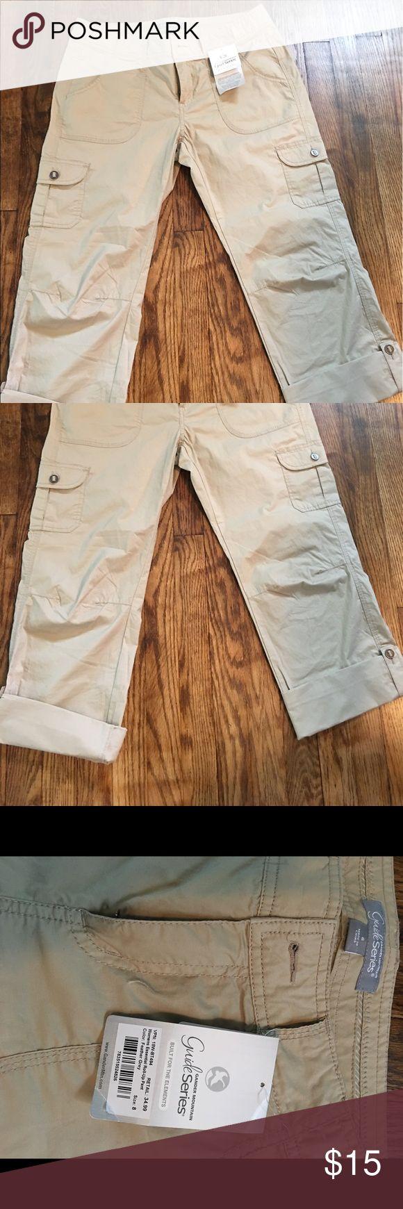 Gander Mountain Guide Series NWT rolled cuff Capri pants. Smoke and pet free Gander Mountain Pants Capris