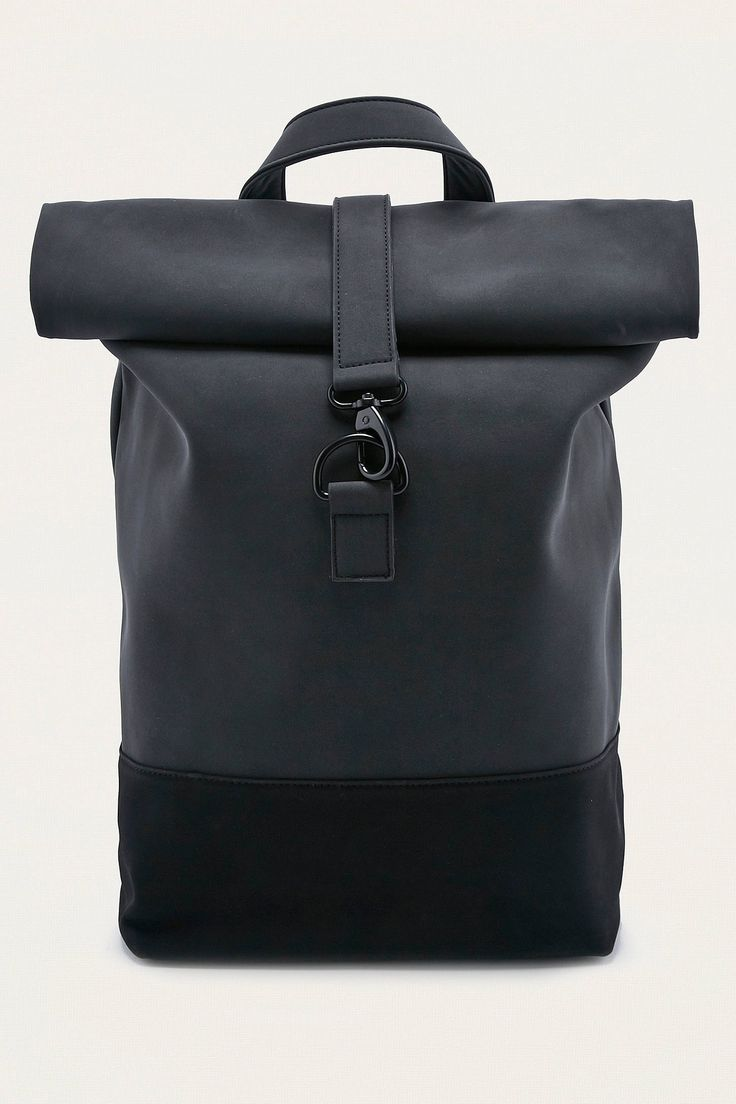 Shop Loom Matte Black Rolltop Backpack at Urban Outfitters today. We carry all the latest styles, colours and brands for you to choose from right here.