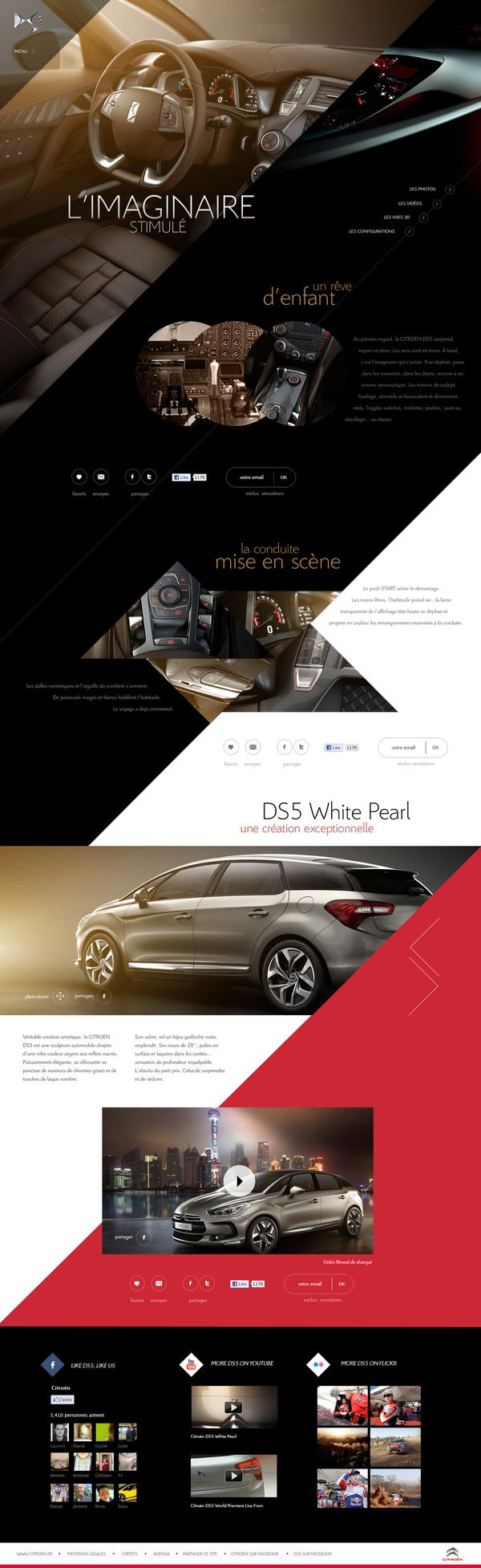Citroen DS5 by Sébastien Durand, via Behance