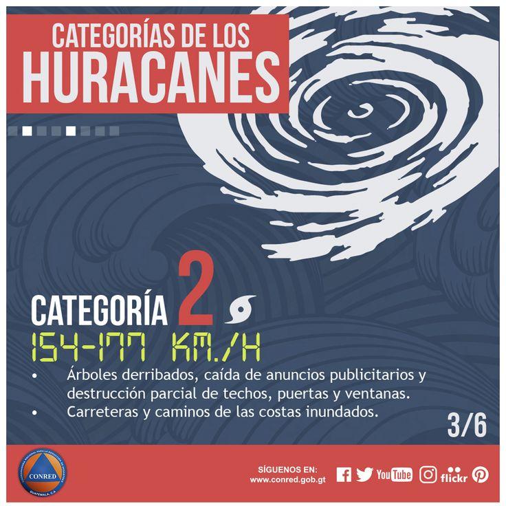 Categoría 2 de huracanes (Escala Saffir Simpson)