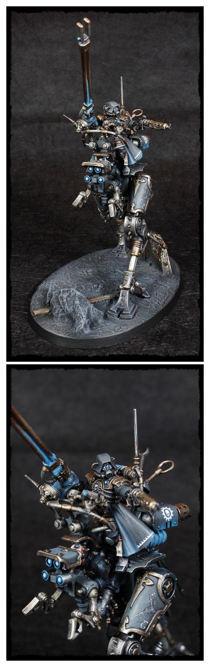 Achlys Tertius, Adeptus Mechanicus, Admech, Ironstrider, Skitarii, Sydonian Dragoon, Warhammer 40,000