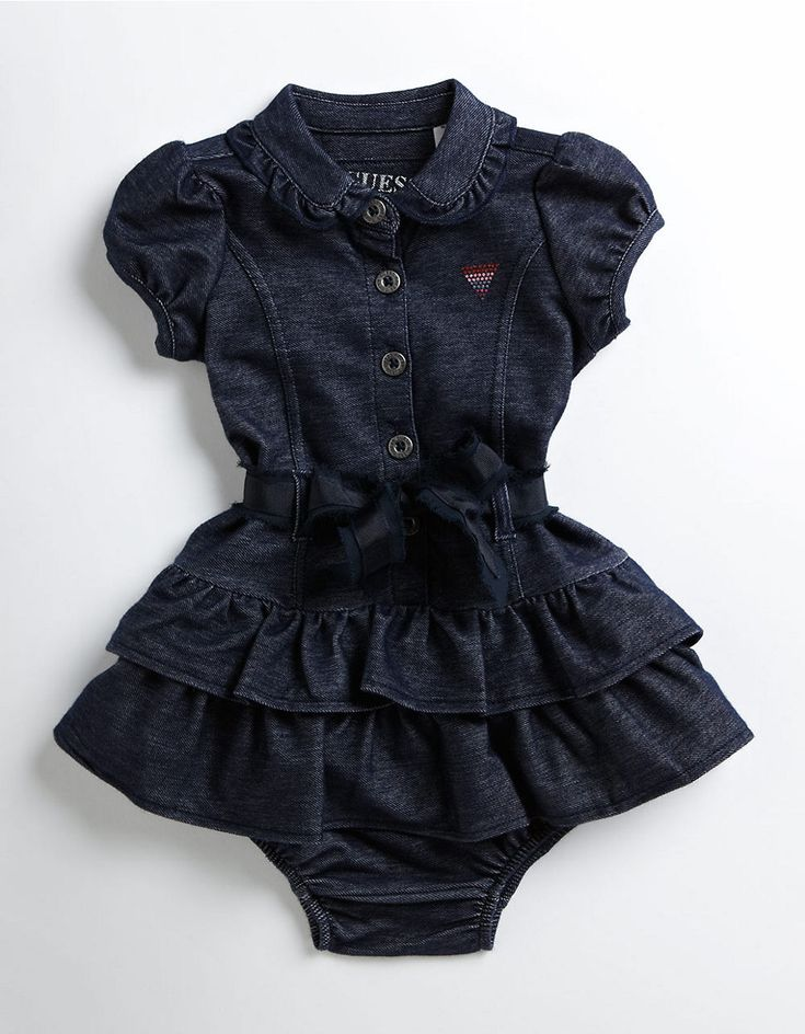 Kids' | Infant Girls | Infant Girls Knit Denim Dress | Hudson's Bay