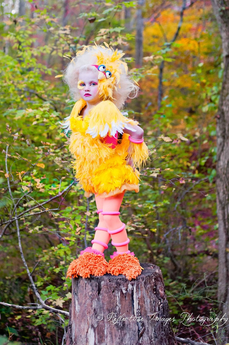 crazy big bird costume!