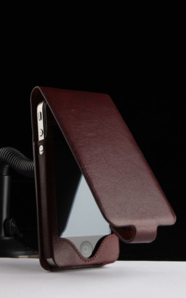 Sena iPhone 4S & 4 Hampton Flip Case BROWN $27.99 at zenwer.com
