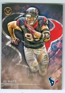 JJ Watt football card (Houston Texans) 2014 Topps Valor #4