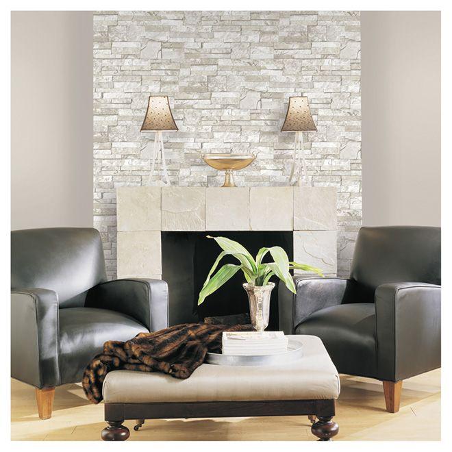 17 meilleures id es propos de papier peint brique sur - Peinture effet brique ...