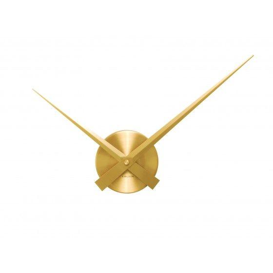 Horloge Karlsson aiguilles mini Gold