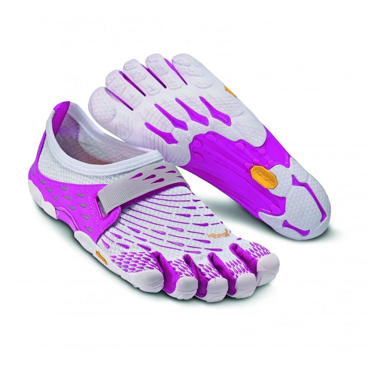 Vibram FiveFingers Womens SEEYA (White / Pink / Grey) Running Shoes - Vibram FiveFingers from Feetus UK These should be arriving today!!