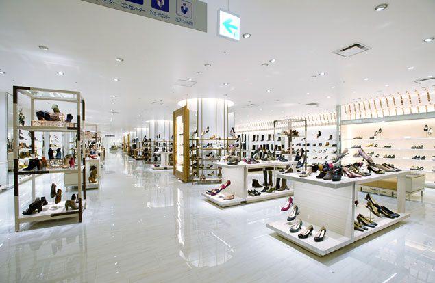 Isetan Shinjuku department store, shoe department