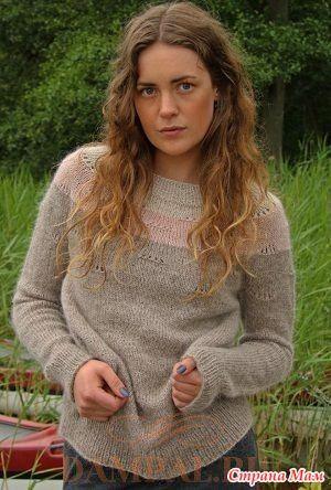 Вязаный пуловер «Napoli» - Вязание - Страна Мам